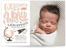 Blast Off Birth Announcements