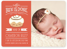 The Bun is Done! Birth Announcements