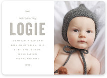 Legacy Birth Announcements