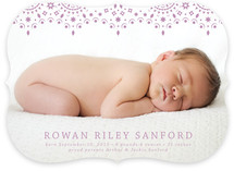 So Delicate Birth Announcements
