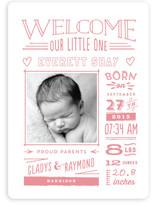 Limoncello Birth Announcements