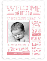 Limoncello Birth Announcements