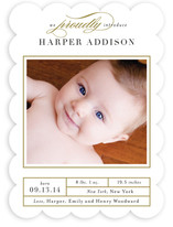 Proud Introduction Birth Announcements