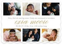 Little Details Birth Announcements