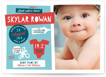 Cool Kid Birth Announcements