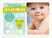 Cool Kid Birth Announcements