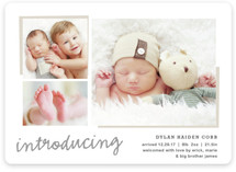 All The Details Birth Announcements