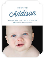 Meet our Sweet Birth Announcements
