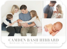 Sweet Grid Birth Announcements