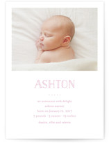 Dallas Birth Announcements