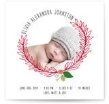 Wrapped in Love Birth Announcements