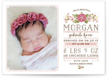 Hello Beautiful Birth Announcements