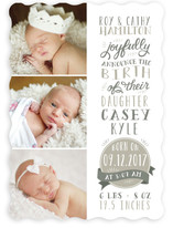 Dearest Birth Announcements