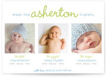 How Do You Tell Them Apart Birth Announcements