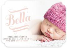 Bella Birth Announcements