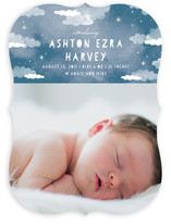 Celestial Clouds Birth Announcements