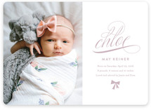 Fancy Birth Announcements