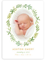 Garden Of Ivy Birth Announcements