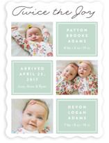 Twin Joy Birth Announcements