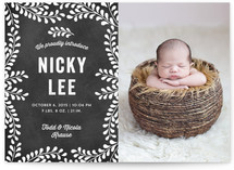 Sweet Nature Birth Announcements