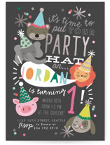 Party Hat Animals