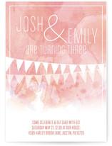 Twin Birthday Children's Birthday Party Invitations