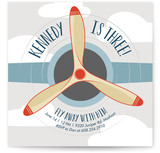 Fly Away With... Children's Birthday Party Invitations