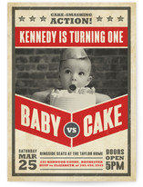 Baby Vs. Cake by Susan Asbill