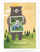 Bear Hugs Children's Birthday Party Invitations