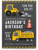 Party Zone Children's Birthday Party Invitations