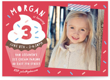 Sprinkles Children's Birthday Party Invitations