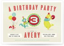 Birthday Jamboree Children's Birthday Party Invitations