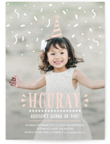 Confetti Pop! Kids Party Invitations