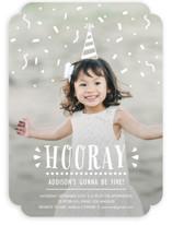 Confetti Pop! Children's Birthday Party Invitations
