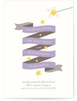 Fairy Stars Children's Birthday Party Invitations