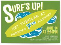 Surf's Up! Children's Birthday Party Invitations