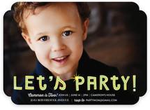 Billboard Children's Birthday Party Invitations