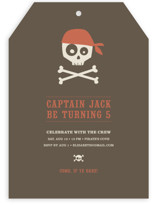 Argh Pirates Children's Birthday Party Invitations
