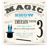 Magic Show Kids Party Invitations