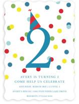Confetti Fun Children's Birthday Party Invitations