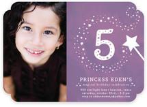 Little Miss Magic Children's Birthday Party Invitations