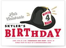 Birthday Chief Children's Birthday Party Invitations