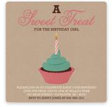 Girlie Cakes Children's Birthday Party Invitations