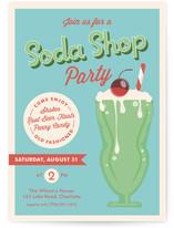 Soda Shop Party