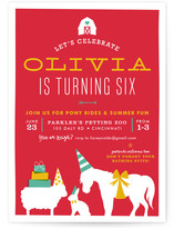 Farm Party Kids Party Invitations