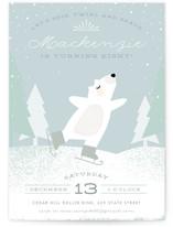 Ice Skating Bear
