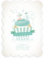 Cupcake Celebration Children's Birthday Party Invitations