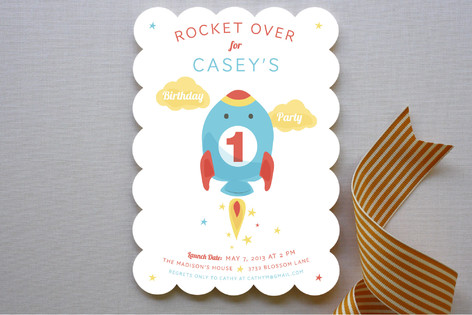 Countdown to Fun Children's Birthday Party Invitations