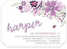 Garden Fete Children's Birthday Party Invitations