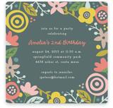 Gardenia Children's Birthday Party Invitations